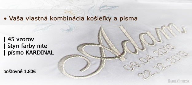 9b73cfd42 Vyšívanie košieľok na krst - cez INTERNET | BatolaShop.sk