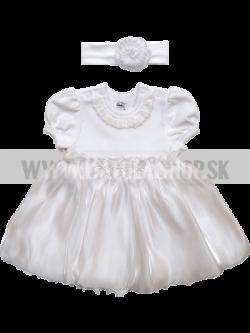 Šaty na krst -  56-62