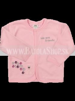 Kabátik - 68 ružová