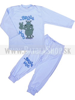 Pyžamo - 86 modrá