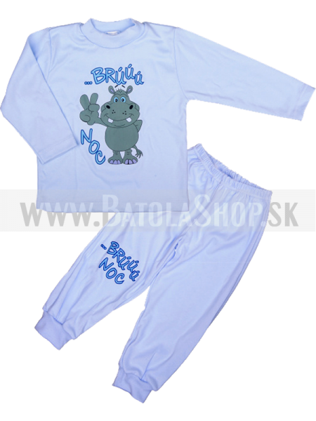 Pyžamo - 92 modrá