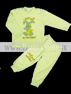 Pyžamo - 92 zelená