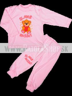 Pyžamo - 98 ružová