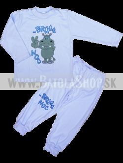 Pyžamo - 98 modrá