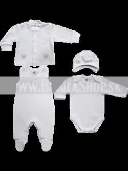 Súprava do pôrodnice - 50-56 - biela