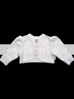 Bolero na krst - 56-62 - biela