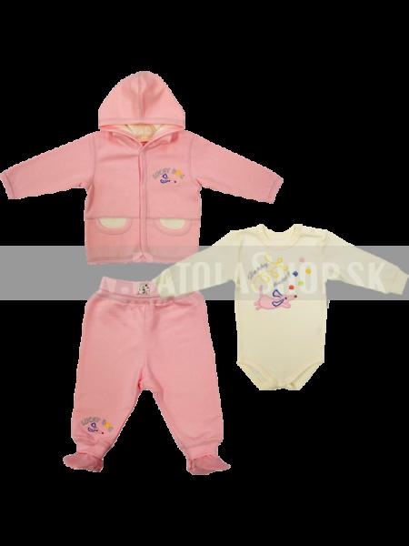 Súprava - 56-62 ružová
